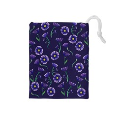 Floral Drawstring Pouches (medium)