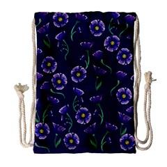 Floral Drawstring Bag (large)