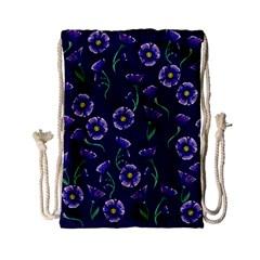 Floral Drawstring Bag (small)