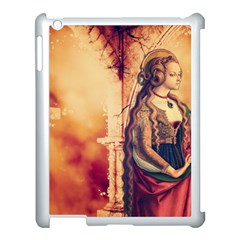 Fantasy Art Painting Magic Woman  Apple Ipad 3/4 Case (white) by paulaoliveiradesign