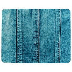 Denim Jeans Fabric Texture Jigsaw Puzzle Photo Stand (rectangular) by paulaoliveiradesign