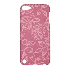 Floral Rose Flower Embroidery Pattern Apple Ipod Touch 5 Hardshell Case by paulaoliveiradesign