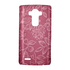 Floral Rose Flower Embroidery Pattern Lg G4 Hardshell Case by paulaoliveiradesign