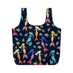 Mermaids Full Print Recycle Bags (m)  by BubbSnugg