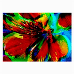 Flowers With Color Kick 1 Large Glasses Cloth (2 Side) by MoreColorsinLife