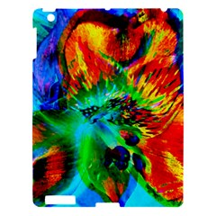 Flowers With Color Kick 2 Apple Ipad 3/4 Hardshell Case by MoreColorsinLife