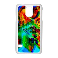 Flowers With Color Kick 2 Samsung Galaxy S5 Case (white)