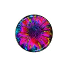Flowers With Color Kick 3 Hat Clip Ball Marker (10 Pack) by MoreColorsinLife