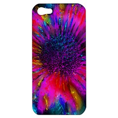 Flowers With Color Kick 3 Apple Iphone 5 Hardshell Case by MoreColorsinLife