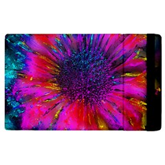 Flowers With Color Kick 3 Apple Ipad 2 Flip Case by MoreColorsinLife