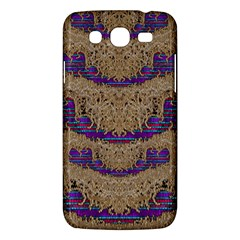 Pearl Lace And Smiles In Peacock Style Samsung Galaxy Mega 5 8 I9152 Hardshell Case  by pepitasart