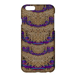 Pearl Lace And Smiles In Peacock Style Apple Iphone 6 Plus/6s Plus Hardshell Case by pepitasart