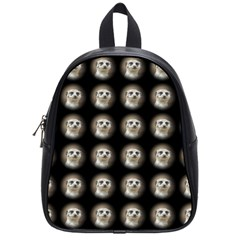 Cute Animal Drops   Meerkat School Bag (small) by MoreColorsinLife