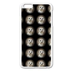 Cute Animal Drops   Meerkat Apple Iphone 6 Plus/6s Plus Enamel White Case by MoreColorsinLife