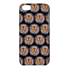 Cute Animal Drops   Tiger Apple Iphone 5c Hardshell Case by MoreColorsinLife