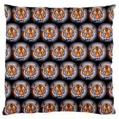 Cute Animal Drops   Tiger Standard Flano Cushion Case (one Side) by MoreColorsinLife