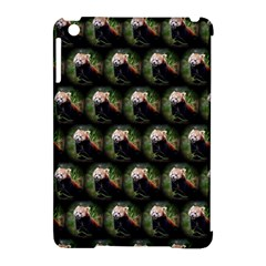 Cute Animal Drops   Red Panda Apple Ipad Mini Hardshell Case (compatible With Smart Cover) by MoreColorsinLife