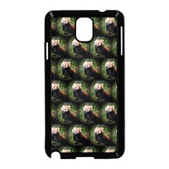 Cute Animal Drops   Red Panda Samsung Galaxy Note 3 Neo Hardshell Case (black) by MoreColorsinLife