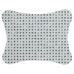 Word Search With Common Female Names Jigsaw Puzzle Photo Stand (bow) by DownUnderSearcher