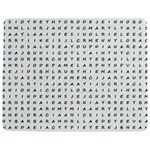 Word Search With Common Female Names Jigsaw Puzzle Photo Stand (Rectangular) Front