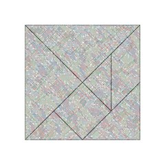 Solved Word Search Acrylic Tangram Puzzle (4  X 4 ) by DownUnderSearcher