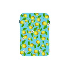 Lemon Pattern Apple Ipad Mini Protective Soft Cases by Valentinaart