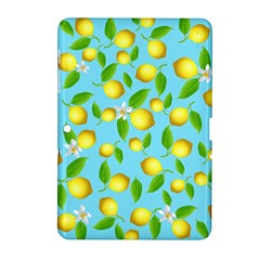 Lemon Pattern Samsung Galaxy Tab 2 (10 1 ) P5100 Hardshell Case  by Valentinaart