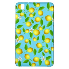 Lemon Pattern Samsung Galaxy Tab Pro 8 4 Hardshell Case by Valentinaart