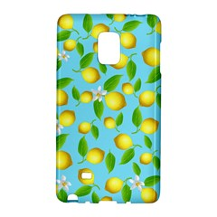 Lemon Pattern Galaxy Note Edge by Valentinaart