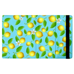 Lemon Pattern Apple Ipad Pro 12 9   Flip Case by Valentinaart