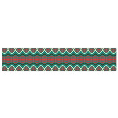 Ethnic Geometric Pattern Flano Scarf (small) by linceazul