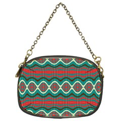 Ethnic Geometric Pattern Chain Purses (two Sides)  by linceazul