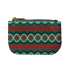 Ethnic Geometric Pattern Mini Coin Purses by linceazul