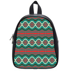 Ethnic Geometric Pattern School Bag (small) by linceazul