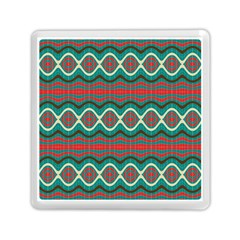 Ethnic Geometric Pattern Memory Card Reader (square)  by linceazul