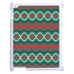 Ethnic Geometric Pattern Apple Ipad 2 Case (white) by linceazul