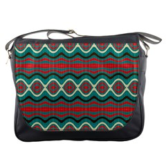 Ethnic Geometric Pattern Messenger Bags by linceazul