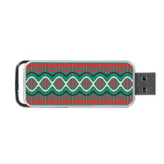Ethnic Geometric Pattern Portable Usb Flash (two Sides) by linceazul