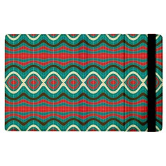 Ethnic Geometric Pattern Apple Ipad 3/4 Flip Case by linceazul
