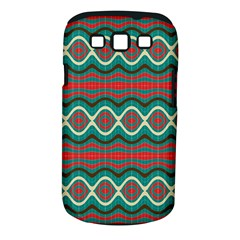 Ethnic Geometric Pattern Samsung Galaxy S Iii Classic Hardshell Case (pc+silicone) by linceazul