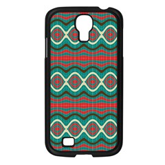 Ethnic Geometric Pattern Samsung Galaxy S4 I9500/ I9505 Case (black) by linceazul