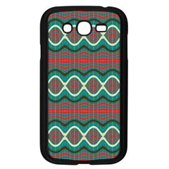 Ethnic Geometric Pattern Samsung Galaxy Grand Duos I9082 Case (black) by linceazul