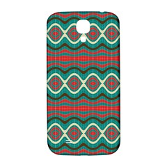 Ethnic Geometric Pattern Samsung Galaxy S4 I9500/i9505  Hardshell Back Case by linceazul