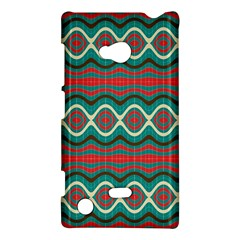 Ethnic Geometric Pattern Nokia Lumia 720 by linceazul