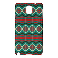 Ethnic Geometric Pattern Samsung Galaxy Note 3 N9005 Hardshell Case by linceazul