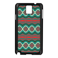 Ethnic Geometric Pattern Samsung Galaxy Note 3 N9005 Case (black) by linceazul