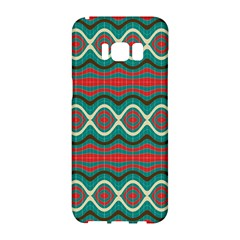 Ethnic Geometric Pattern Samsung Galaxy S8 Hardshell Case  by linceazul