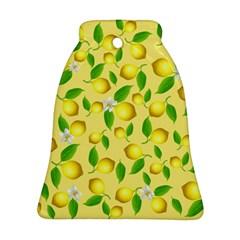 Lemon Pattern Ornament (bell) by Valentinaart