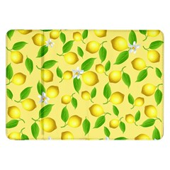 Lemon Pattern Samsung Galaxy Tab 8 9  P7300 Flip Case by Valentinaart