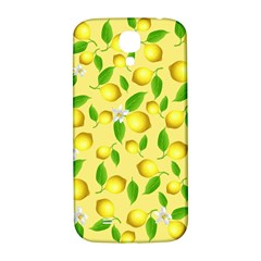Lemon Pattern Samsung Galaxy S4 I9500/i9505  Hardshell Back Case by Valentinaart